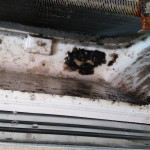 Dirt Trapped in Commercial Aircon